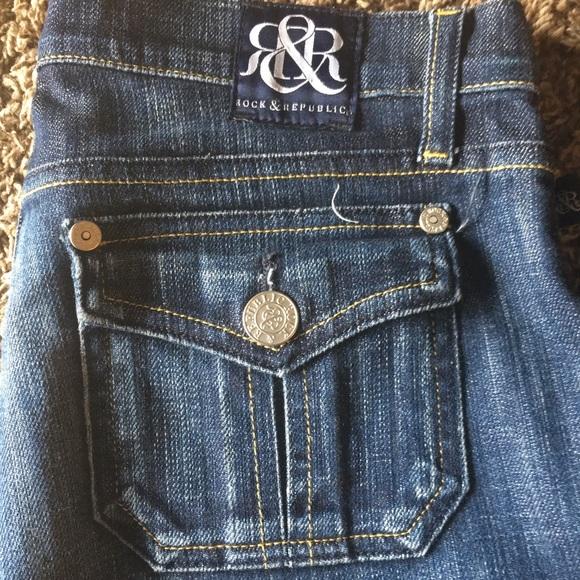 Rock & Republic Denim - Rock and Republic Flared Jeans